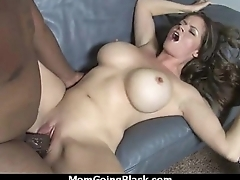 hot milf mom vindicate a blowjob and ride a heavy black load of shit interracial 4