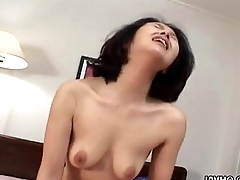 Asian milf loses her be cautious as she'_s fucked