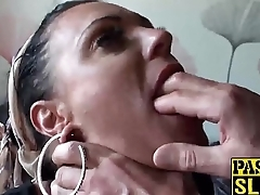 Ex girlfriend Layla Lixx gets fucked in her tight mommy ass