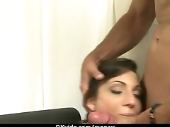 Cute Teen Suck and fucked for cash 5
