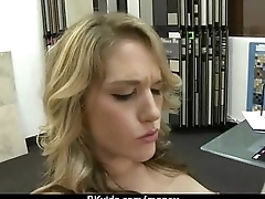 Cute Teen Suck and fucked for cash 28