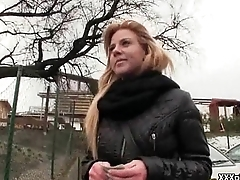 Public Pickups - Sexy Czech Amateur Fucked In An obstacle Open Public 10