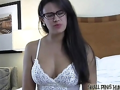 Your cock is so small you are barely a woman at all SPH