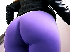 Amazing Big Ass Teen On the In someone's bailiwick Exposing Big Boobs and Cameltoe