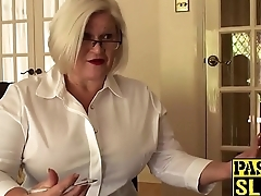 Sex therapist Lacey Star gets fucked in her granny irritant