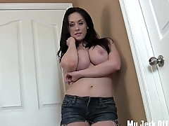 I will give you two good reasons to cum JOI