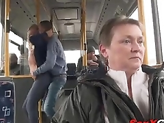 Ass Fucked on the Bring to Bus