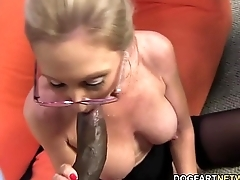 Hot cougar Jenna Covelli takes two BBC'_s