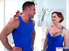 (katja kassin) Mature Big Round Tits Lady Fucks Beyond Camera vid-16