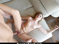 ExxxtraSmall - TIny Scarlett Sage Pounded By Huge Cock