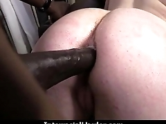 Black Stud fucks white girl silly 23