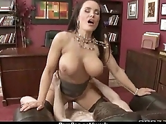 Slutty big tit office worker loves to be dominated at work 5