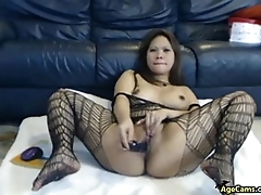 WebcamHot Asian Widely applicable Dildoing Pussy Porn