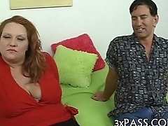 Easy large beautiful woman