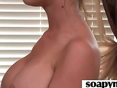 Masseuse shows her AMAZING conclave in a hot soapy massage 3