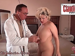 Claudia Marie Posture Tits Cut Out!