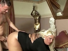 Very fat german woman take cock