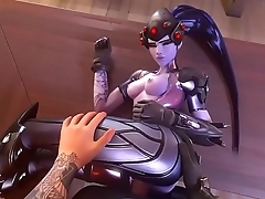 Widowmaker Gets Pounded (SFM w/ Sound)