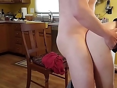 Taking a Pounding in the Kitchen Clumsy Kitchen Sex