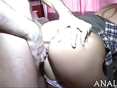 Teen coitus tight-fisted cookie