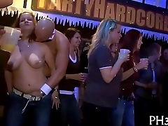 Low-spirited party sex