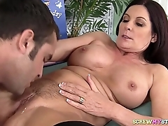 Step Mom MILF Licked And Fucked
