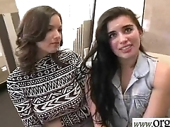 Sex Tape With Paid In Oodles Of Cash Sluty Teen Girl (Shae Summers&amp_Brianna Oshea) clip-27
