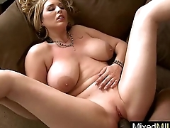 Big Black Monster Cock Inside Wet Pussy Milf (athena pleasures) clip-05