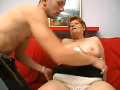 a big pretty good granny from DesiresBBW .com