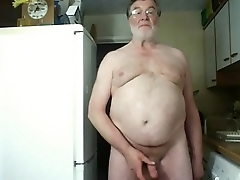 Morning Wank and Cum on Cam
