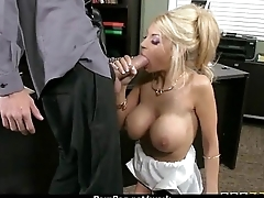 Big Titted Secretary Fucks At The Office 15