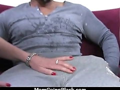 Hot Wild Mom with Big Bristols gets Pounded by Black Bushwa 13