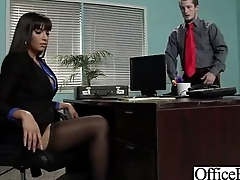 Hardcore Sex Scene In Office With Slut Naughty Busty Girl (mercedes carrera) clip-25
