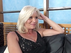 Fakeshooting - MILF Clarisa Strips &amp_ Fucks For An Audition with Wendy Moon