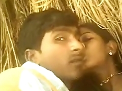 Indian young Hot Bhabhi Saree Pulled Up And Fucked in Backtrack from yard in Village - Wowmoyback