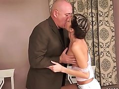 Doris Ivy on big older dick