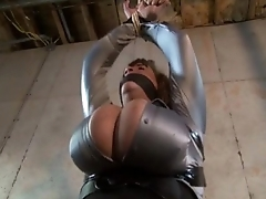 huge Bristols bdsm - bound and tied