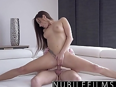 NubileFilms - Hardcore creampie for college spoil
